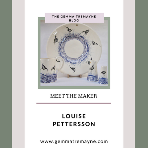 Handmade ceramics by Louise Pettersson