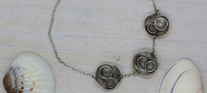 Handmade rock pool inspired bracelet by Gemma Tremayne Jewellery