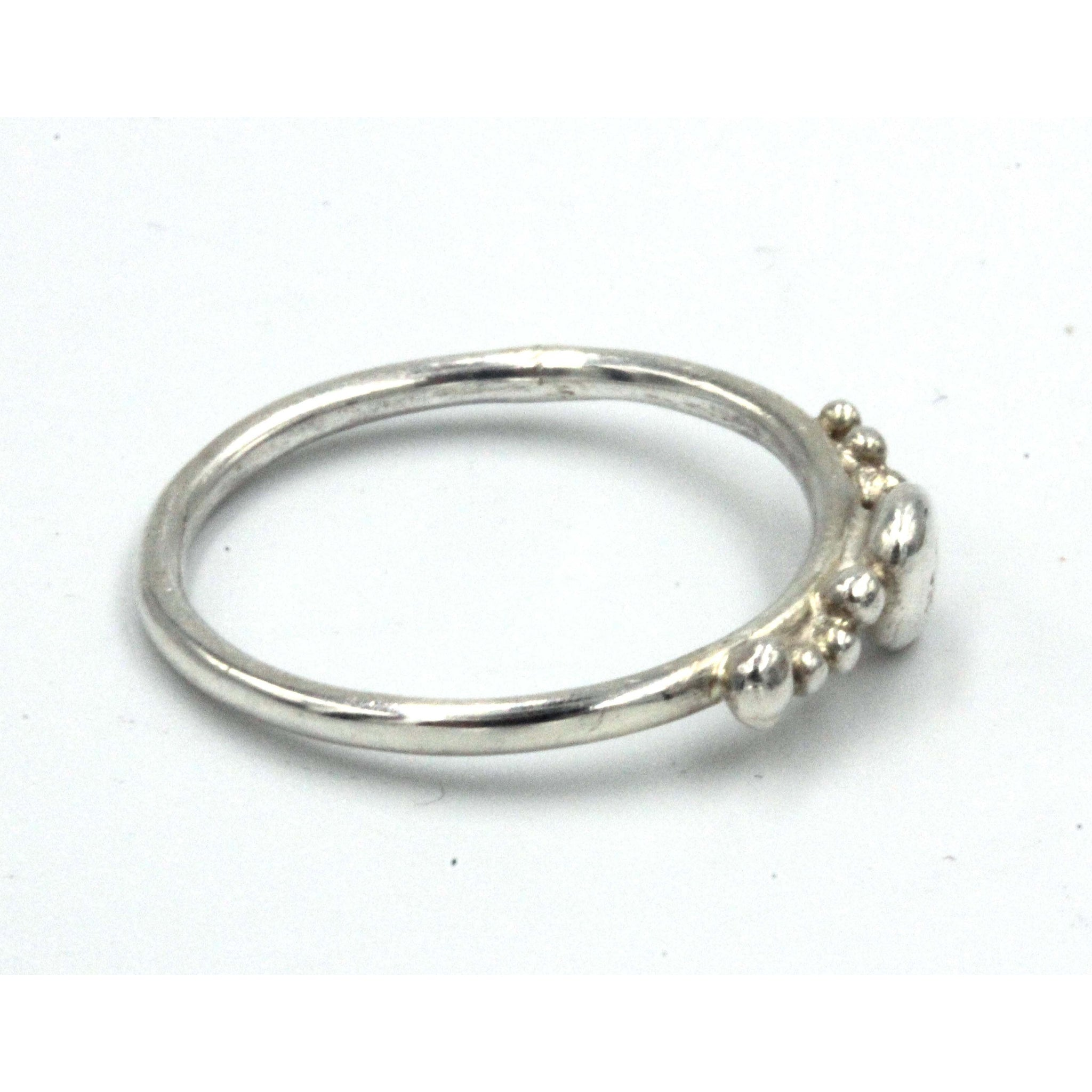 Sterling silver 'Pebbles' ring by Gemma Tremayne Jewellery