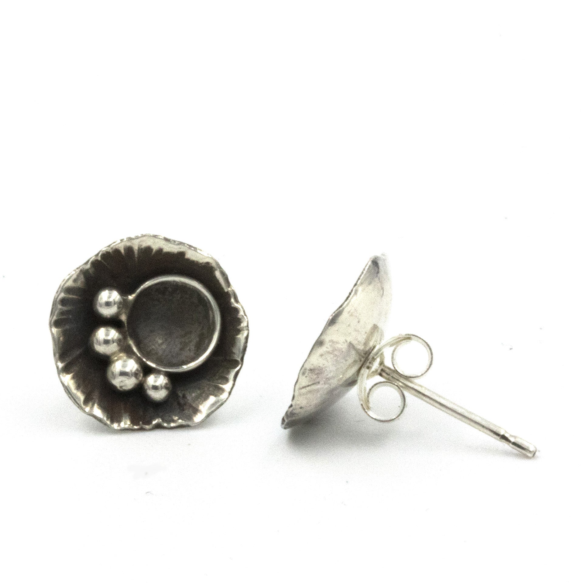 'Rock Pool' Stud Earrings