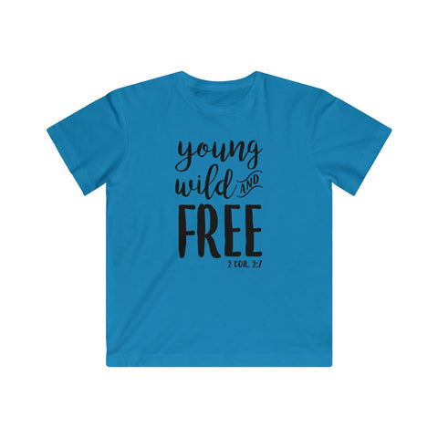 Image of Young, Wild & Free Kids Tee
