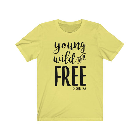 Image of Young & Free Thorn Tour Tee