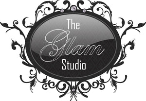The glam studio logo