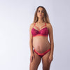 projectme sangria warrior nursing and breastfeeding bra