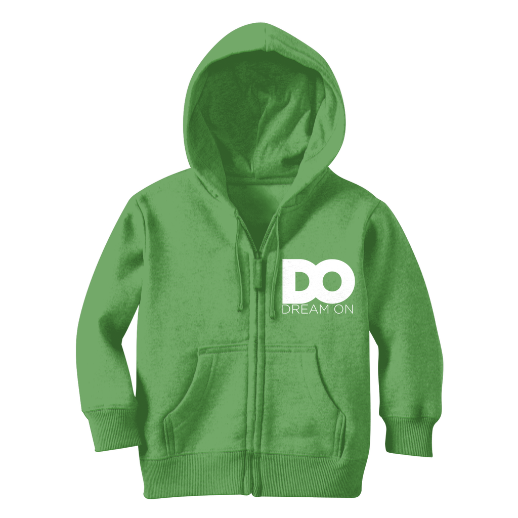 Dream On Classic Kids Zip Hoodie