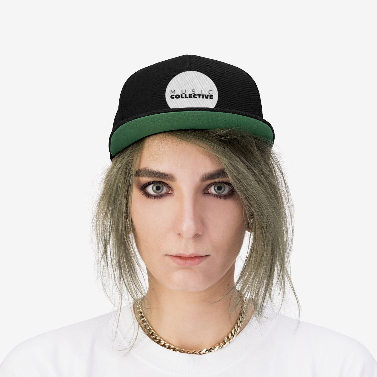 Music Collective Unisex Flat Bill Hat
