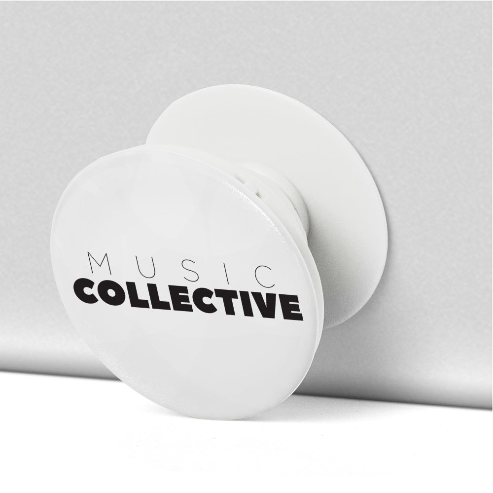 Music Collective Collapsible Grip & Stand for Phone