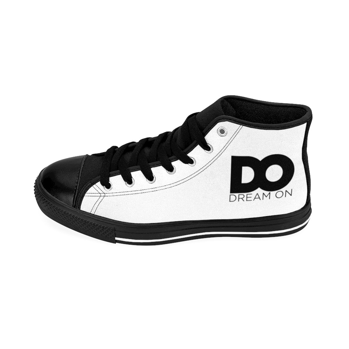DO Black & White High-Tops