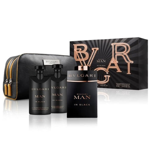 Set Bvlgari Man in Black Caballero Bvlgari 4 pz | PriceOnLine