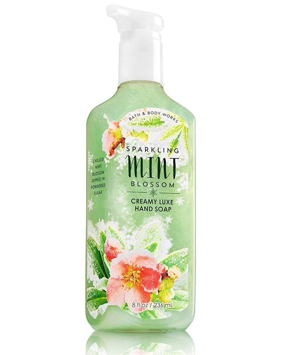 Sparkling Mint Blossom Hand Soap Bath and Body Works 259 ml | PriceOnLine