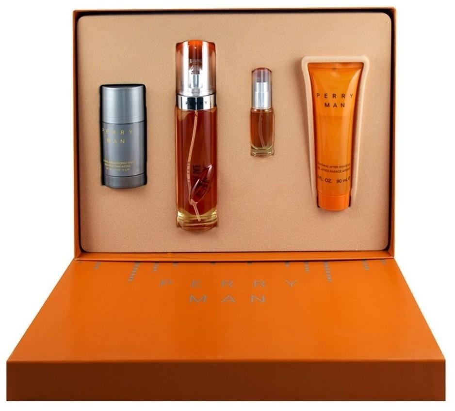 Set Perry Man Caballero Perry Ellis 4 Pz | PriceOnLine