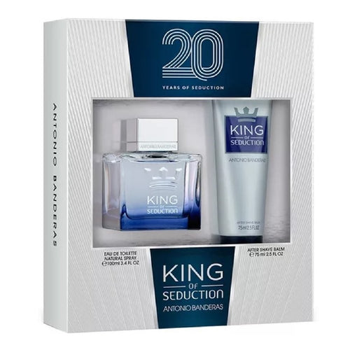 Set King Of Seduction Caballero Antonio Banderas 2 Pz (100 ml + after shave) - PriceOnLine