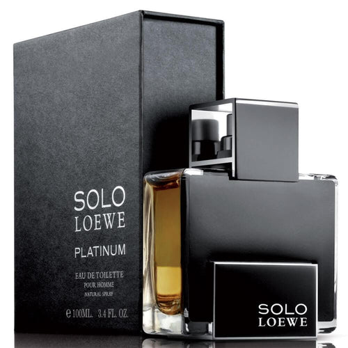Solo Platinum Caballero Loewe 100 ml Edt Spray - PriceOnLine