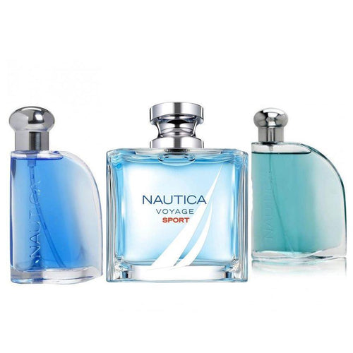 Paquete 3 Perfumes 3X1 Nautica Voyage Sport + Blue + Classic Caballero 100 ml Edt Spray | PriceOnLine