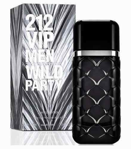 212 Vip Men Wild Party Caballero Carolina Herrera 100 ml Edt Spray | PriceOnLine