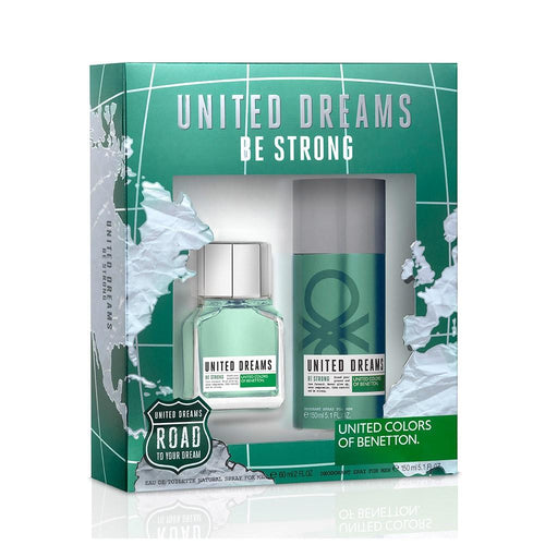 Set United Dreams Be Strong Caballero Benetton 2 Pz | PriceOnLine