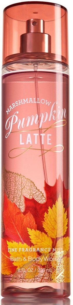 Marshmallow Pumpkin Latte Fragance Mist Bath and Body Works 236 ml Spray - PriceOnLine
