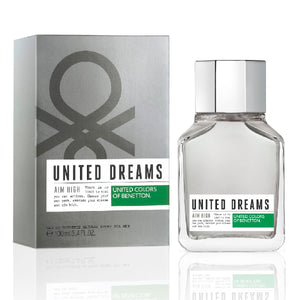 United Dreams Aim High Caballero Benetton 100 ml Edt Spray | PriceOnLine