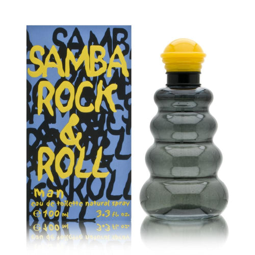 1031-Samba Rock And Roll Caballero 100 ml Spray Perfumes PriceOnLine.mx