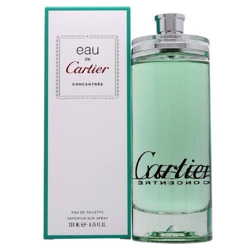 510-Eau De Cartier Concentree Unisex 200 ml Edt Spray Perfumes PriceOnLine.mx