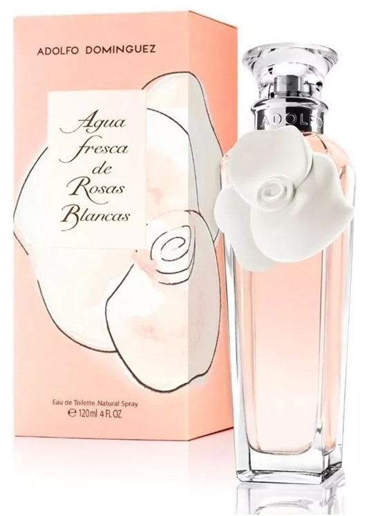 4881-Agua Fresca de Rosas Blancas Dama Adolfo Dominguez 120 ml Edt Spray Perfumes PriceOnLine.mx
