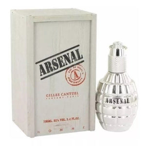 Arsenal Platinum Caballero Gilles Cantuel 100 ml Edp Spray (caja plateada) | PriceOnLine