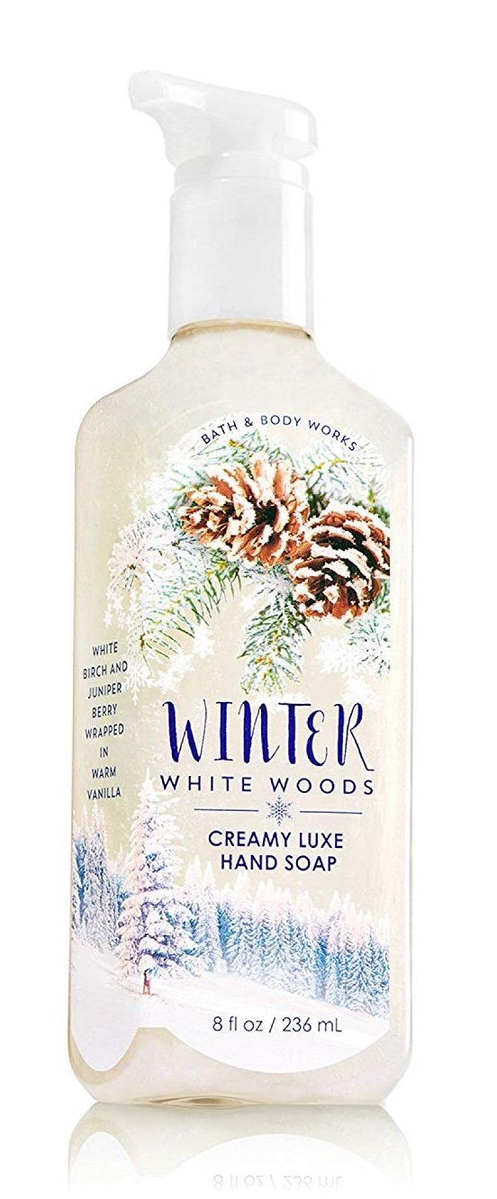 Winter White Woods Creamy Hand Soap Bath and Body Works 236 ml - PriceOnLine
