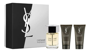 Set L Homme Caballero Yves Saint Laurent 3 Pz (100 ml + 50 ml After + 50 ml Gel) - PriceOnLine