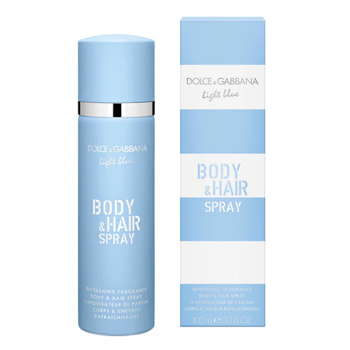 Light Blue Dama Dolce Gabbana Body and Hair Spray 100 ml Body Mist - PriceOnLine
