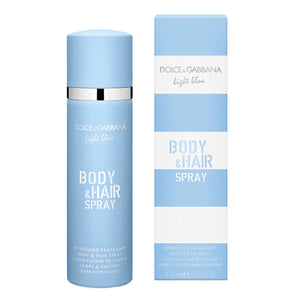 Light Blue Dama Dolce Gabbana Body and Hair Spray 100 ml Body Mist | PriceOnLine
