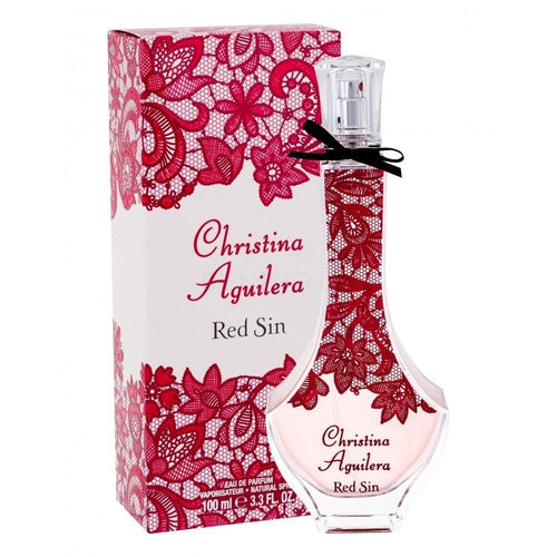Red Sin Dama Christina Aguilera 100 ml Edp Spray | PriceOnLine