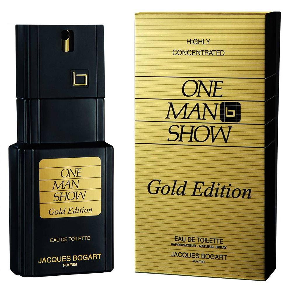 One Man Show Gold Edition Caballero Jacques Bogart 100 ml Edt Spray | PriceOnLine