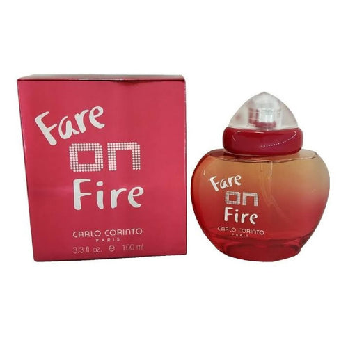 Fare On Fire Dama Carlo Corinto 100 ml Edt Spray | PriceOnLine