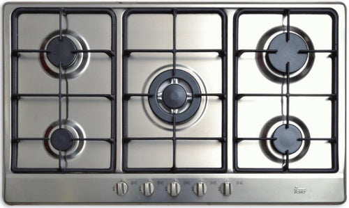 1881-Parrilla Teka Empotrable Eh 90 5G Ai Tr H. Fund. Gas Inox 40225240-Price-OnLine.mx