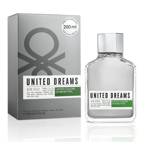 United Dreams Aim High Caballero Benetton 200 ml Edt Spray | PriceOnLine