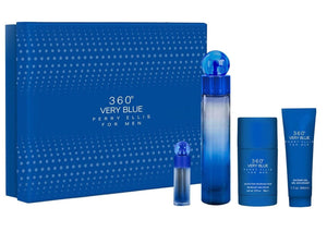 Set 360 Very Blue Caballero Perry Ellis 4 Pz | PriceOnLine