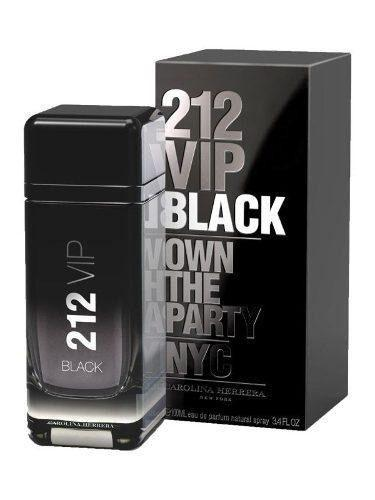 212 Vip Black Men Caballero 100 ml Carolina Herrera | PriceOnLine