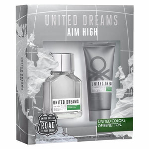Set United Dreams Aim High Caballero Benetton 2 Pz | PriceOnLine