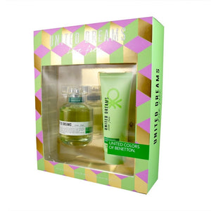 Set United Dreams Live Free Dama Benetton 2 Pz | PriceOnLine
