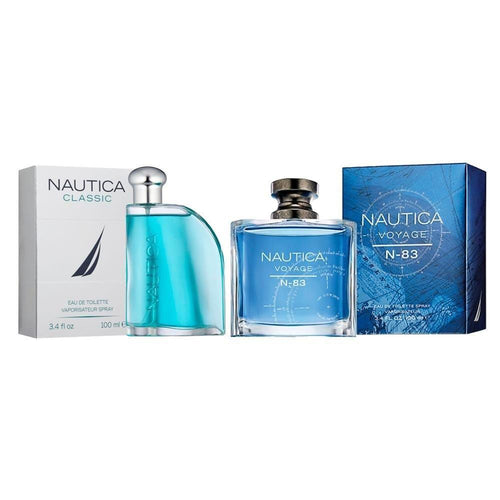 Paquete 2 Perfumes 2X1 Nautica Voyage N-83 + Classic Caballero 100 ml Edt Spray | PriceOnLine