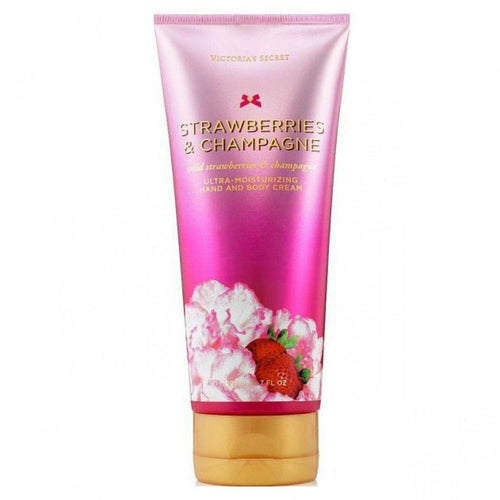 Strawberries and Champagne Hand And Body Cream Victoria Secret 200 ml | PriceOnLine