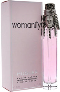 2310-Womanity Dama Thierry Mugler 80 ml Edp Spray (Recargable) Perfumes PriceOnLine.mx