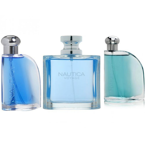 Paquete 3 Perfumes 3X1 Nautica Voyage + Blue + Classic Caballero 100 ml Edt Spray | PriceOnLine
