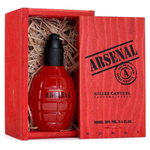 Arsenal Red Caballero Gilles Cantuel 100 ml Edp Spray (caja roja) | PriceOnLine
