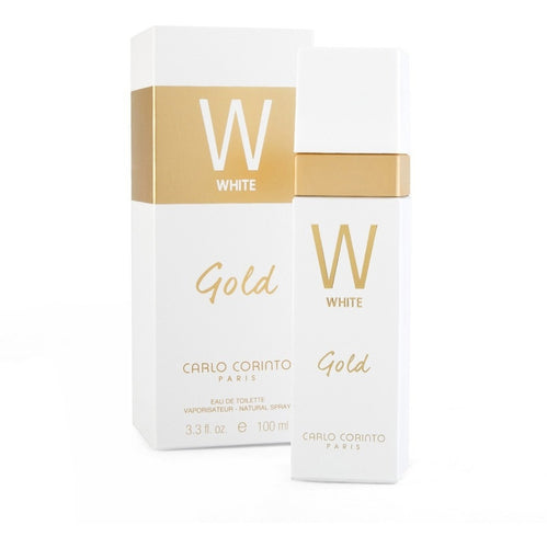 White Gold Dama Carlo Corinto 100 ml Edt Spray | PriceOnLine