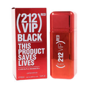 212 Vip Black Red Caballero Carolina Herrera 100 ml Edp Spray | PriceOnLine