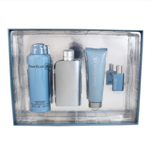 Set Perry 18 Caballero Perry Ellis 4 Pz | PriceOnLine
