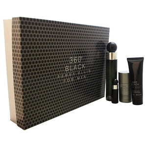 Set 360 Black Caballero Perry Ellis 4 Pz | PriceOnLine