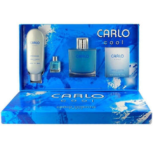 Set Carlo Cool Caballero 4 Pzs (Perfume 100 ml- After Shave-Shampoo-Jabon) | PriceOnLine