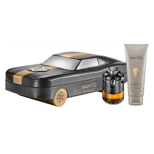 Set Azzaro Wanted by Night Caballero Loris Azzaro 2 pz (50 ml edp + 100 ml shampoo) | PriceOnLine